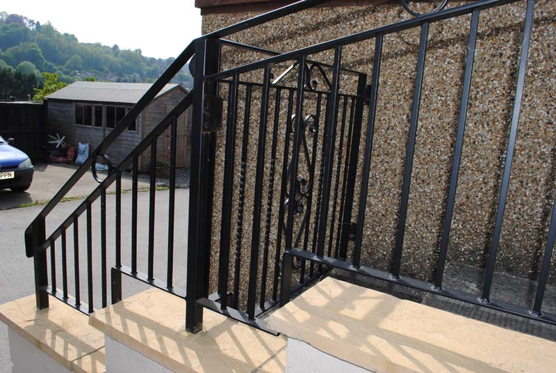gate-and-railings